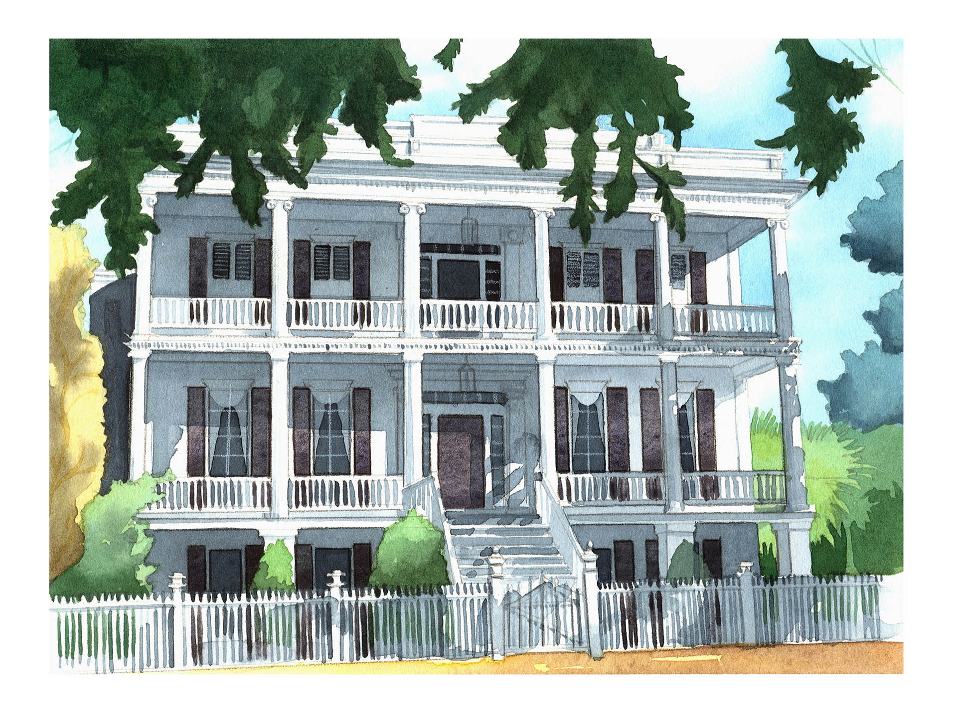 601 Bay St Beaufort SC Painting • Personal Work
