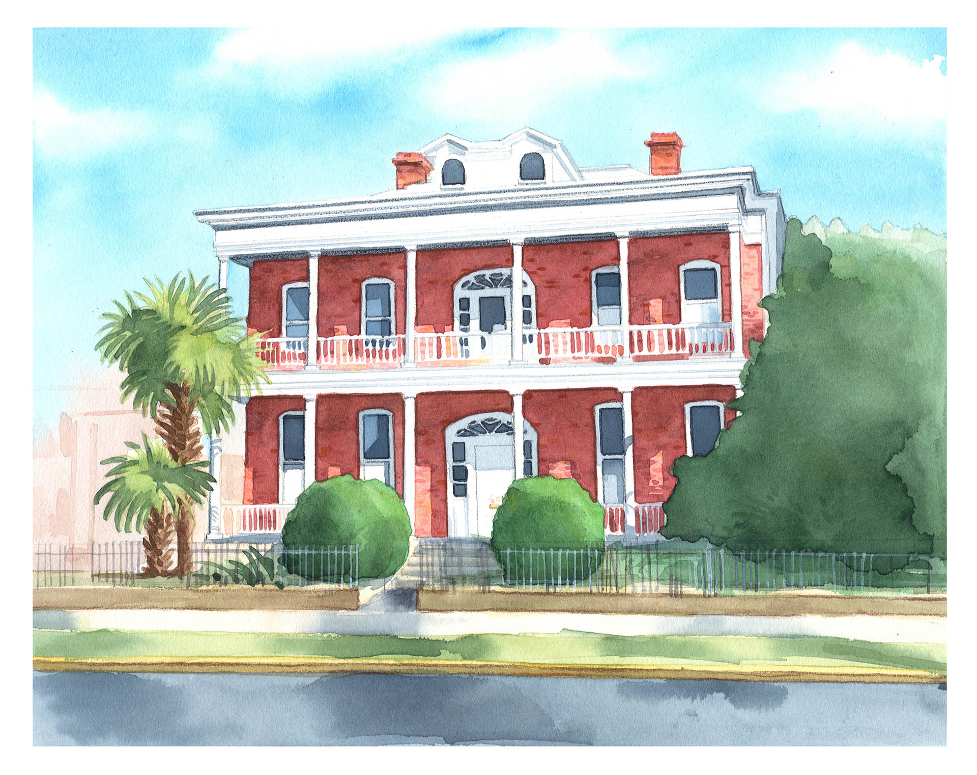 611 Bay St Beaufort SC Painting• Personal Work