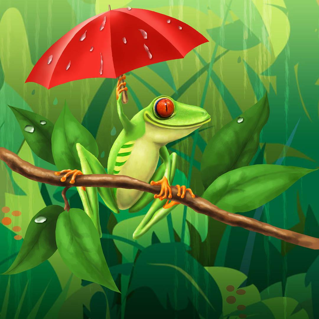 Frog Illustration • Personal Work