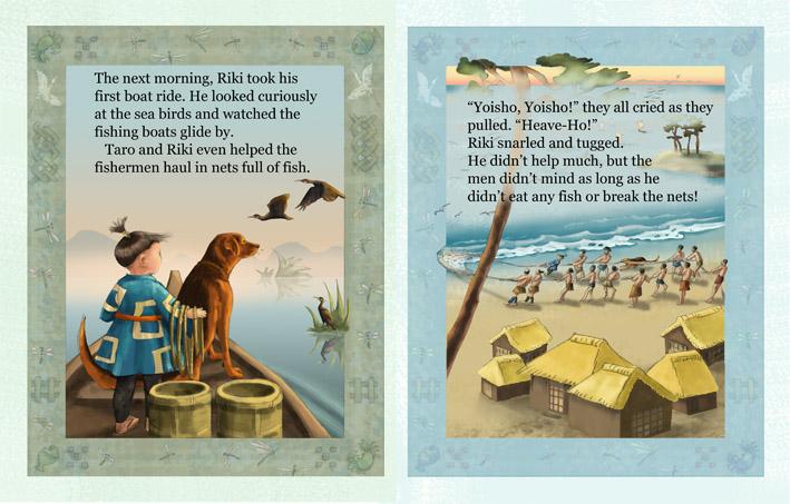Riki's Tale Illustration • Children's Book: Sophie Kittredge