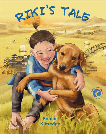 Cover • Children's Book: Riki's Tale by Sophie Kittredge