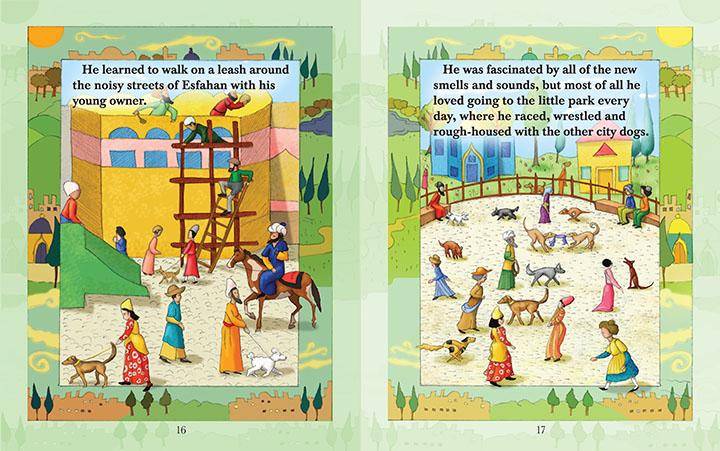 Shayan's Tale Illustration • Children's Book: Sophie Kittredge