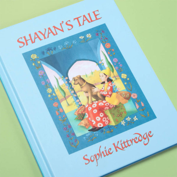 Shayan's Tale children's book cover • Sophie Kittredge