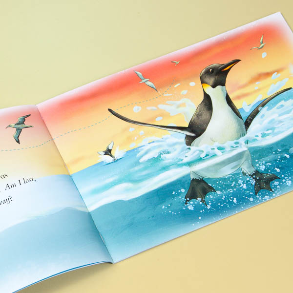 Interior Illustration • The Lonely Penguin's Blog Children's Book