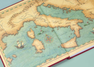 End Papers A Season of Giants Book Map • Turner Publishing